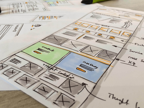 services UX design development