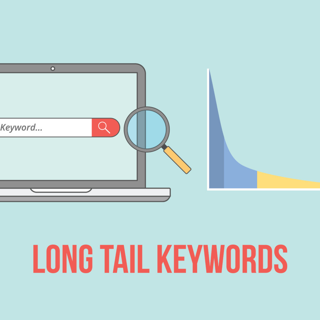 long-tail-keywords-illustration-vector