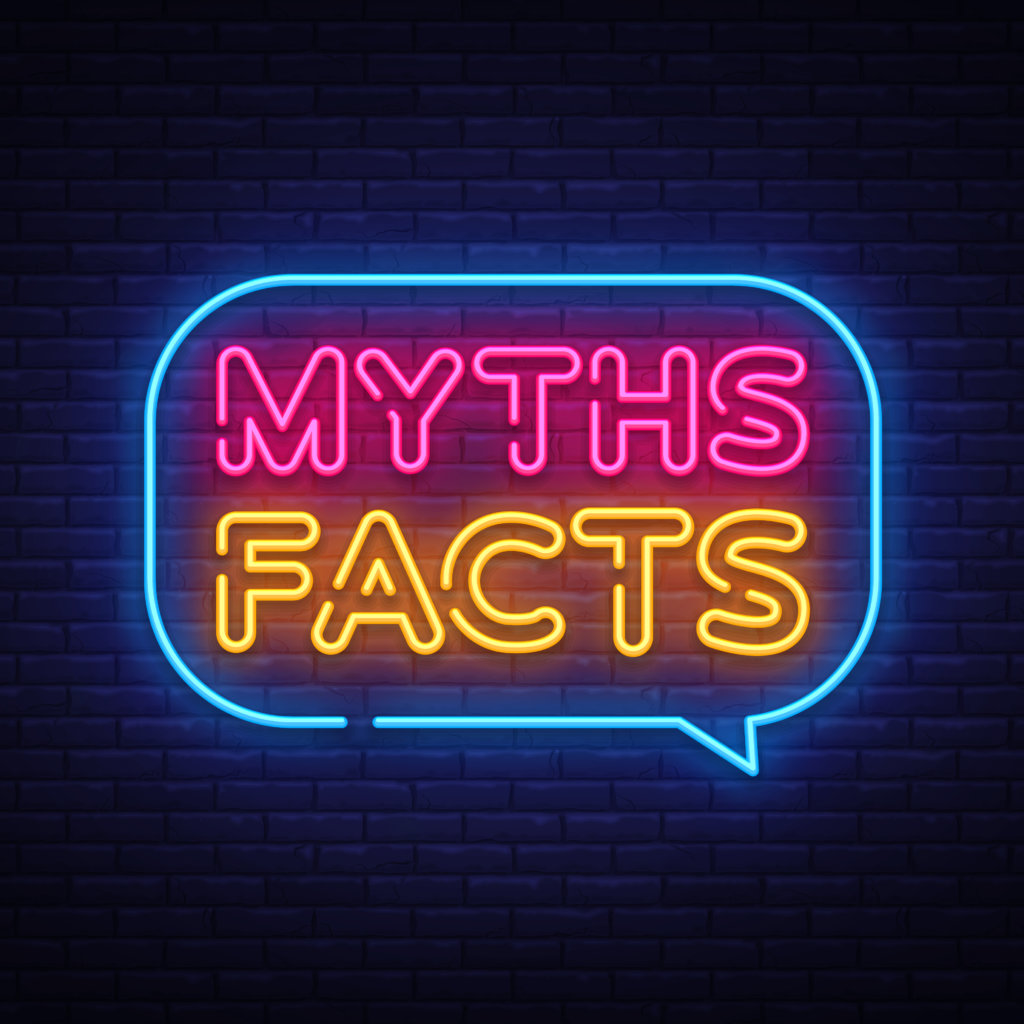 myths-facts-neon-sign