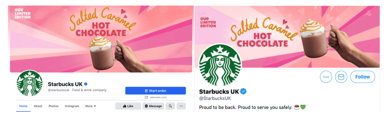 starbucks-facebook-vs-startbucks-instagram