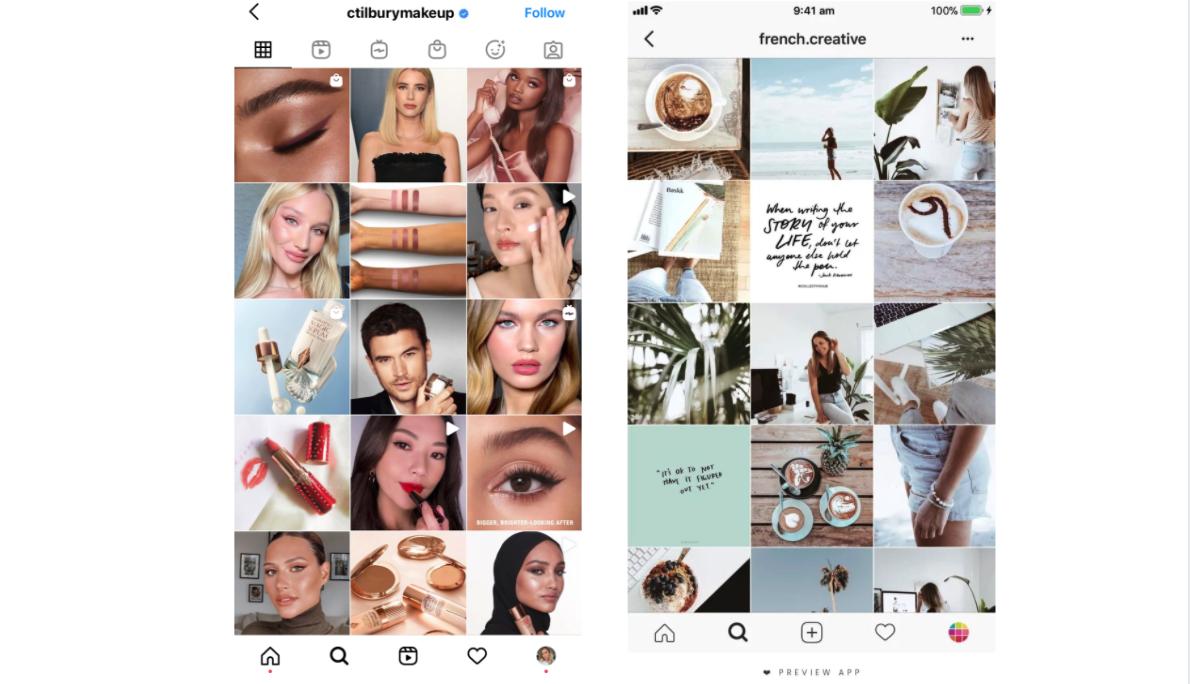Instagram-grids