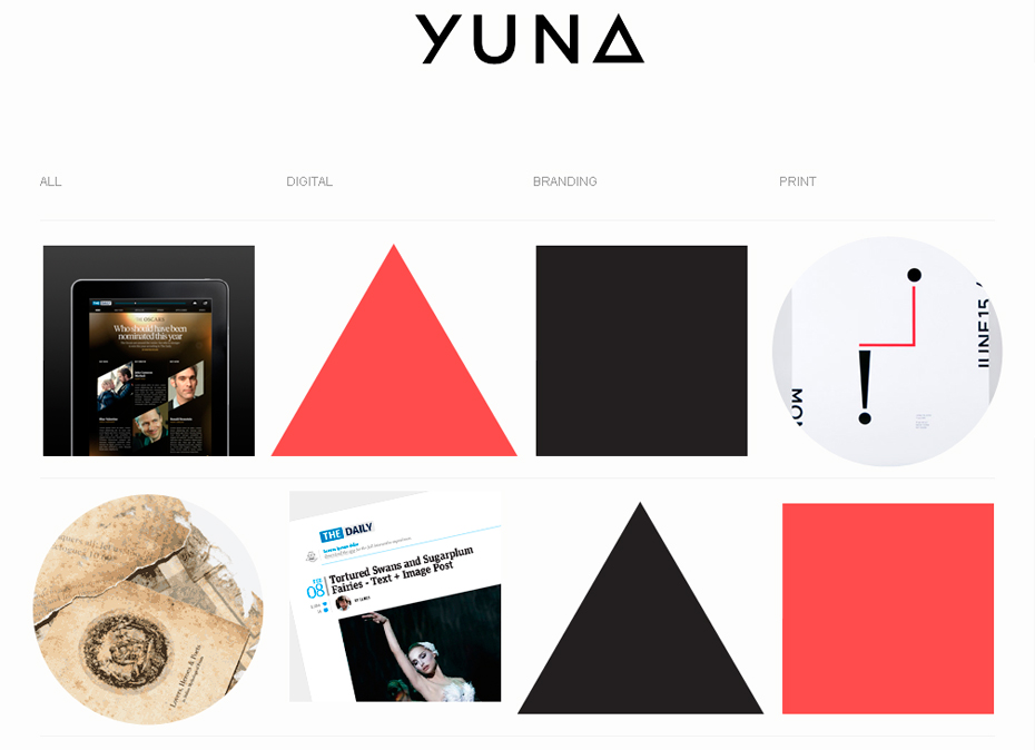 website-with-geometric-shapes