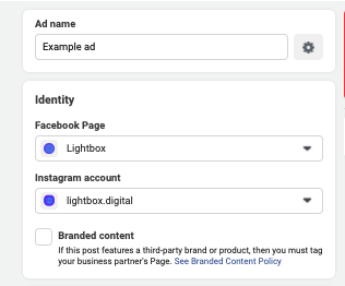 Create Ad Ads Manager
